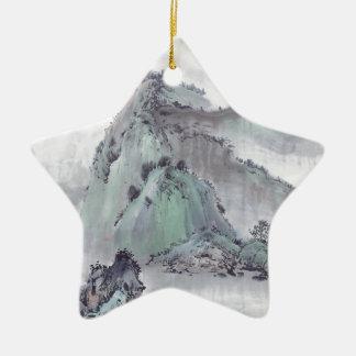 Ornamento De Cerâmica Montanha selvagem
