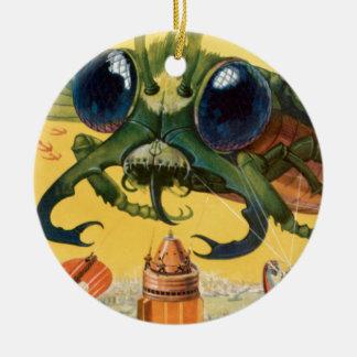 Ornamento De Cerâmica Mosca assustador gigante