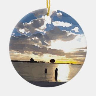 Ornamento De Cerâmica Nadar em Clearwater