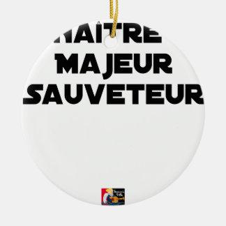 Ornamento De Cerâmica Nascer Essencial Salvador - Jogos de Palavras