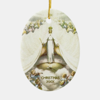 Ornamento De Cerâmica Natal calmo