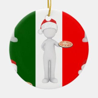 Ornamento De Cerâmica Natal italiano
