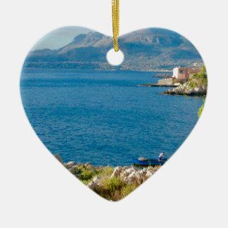 Ornamento De Cerâmica O pescador siciliano