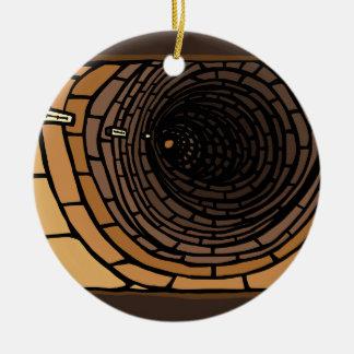 Ornamento De Cerâmica O túnel
