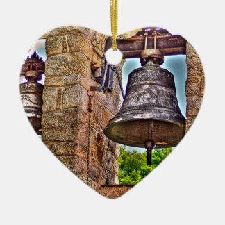 Ornamento De Cerâmica Os arcos da pedra da antiguidade da torre de Bell