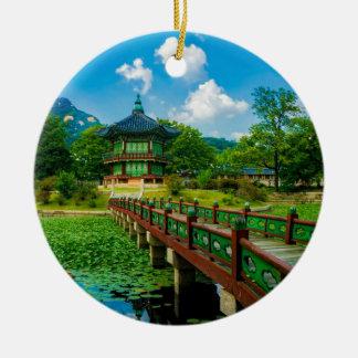 Ornamento De Cerâmica Palácio de Gyeongbokgung, Coreia do Sul