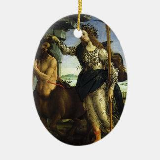 Ornamento De Cerâmica Pallas e o centauro por Sandro Botticelli