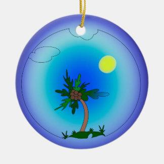 Ornamento De Cerâmica palmeira