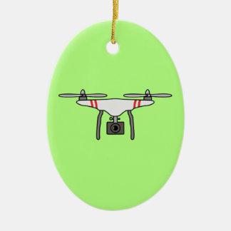 Ornamento De Cerâmica Parte dianteira de vôo de Quadcopter do zangão