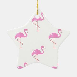 Ornamento De Cerâmica Pássaro do flamingo