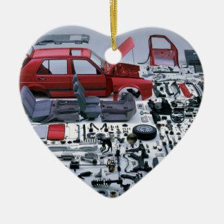 Ornamento De Cerâmica Peças do carro