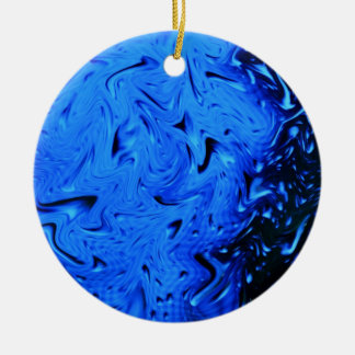 Ornamento De Cerâmica Pingos de chuva por Shirley Taylor