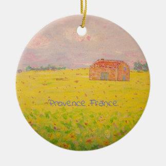Ornamento De Cerâmica Provence France