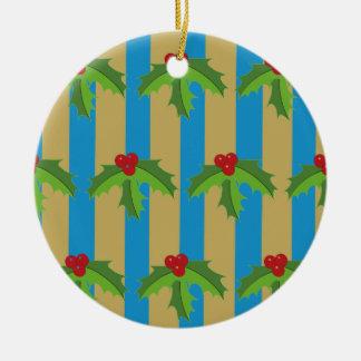 Ornamento De Cerâmica Pudim do Natal