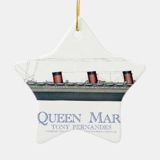 Ornamento De Cerâmica Queen Mary 1936 1