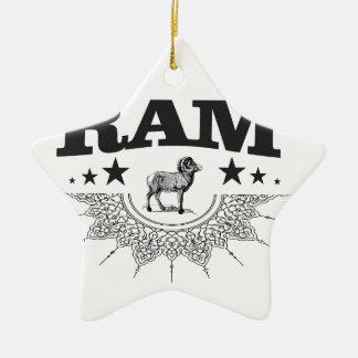 Ornamento De Cerâmica ram dos carneiros