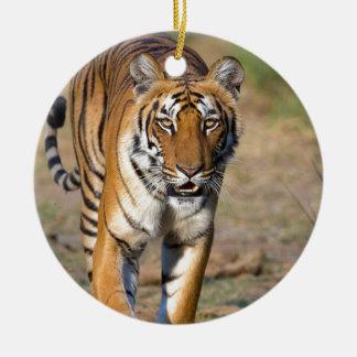 Ornamento De Cerâmica Rapina de desengaço do Tigress fêmea