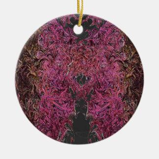 Ornamento De Cerâmica Reflexões do fogo
