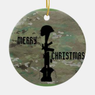 Ornamento De Cerâmica Relembrança militar