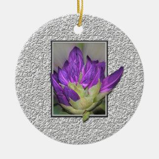 Ornamento De Cerâmica Rododendro
