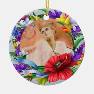 Ornamento De Cerâmica Selfie