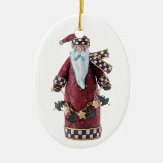 Ornamento De Cerâmica Sinterklaas