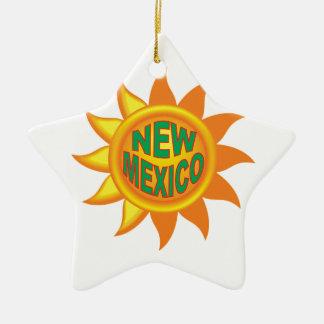 Ornamento De Cerâmica Sol de New mexico