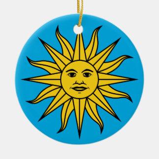 Ornamento De Cerâmica Solenóide de Mayo de Uruguai