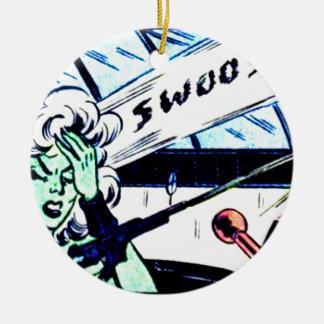Ornamento De Cerâmica Swoosh