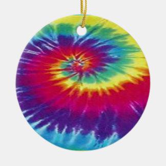 Ornamento De Cerâmica T da tintura do laço do Hippie