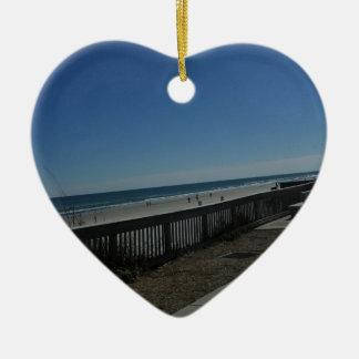 Ornamento De Cerâmica Tempo da praia