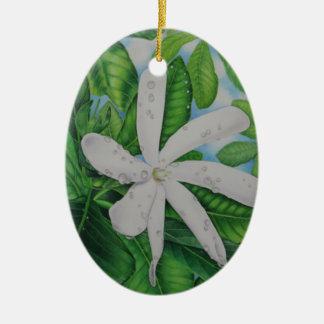 Ornamento De Cerâmica Tiare Tahiti
