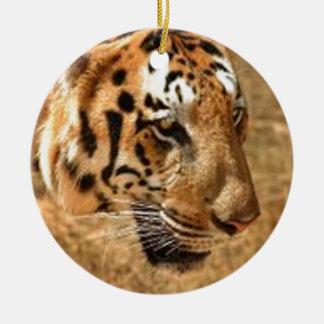 Ornamento De Cerâmica Tigre que desengaça em India