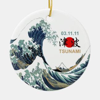 Ornamento De Cerâmica Tsunami 2011 de Japão