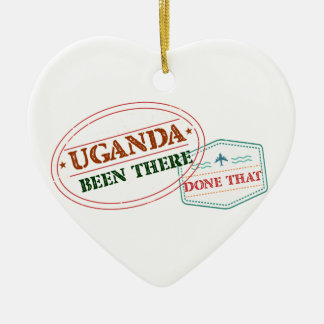 Ornamento De Cerâmica Uganda feito lá isso