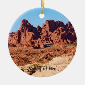 Ornamento De Cerâmica Vale do fogo