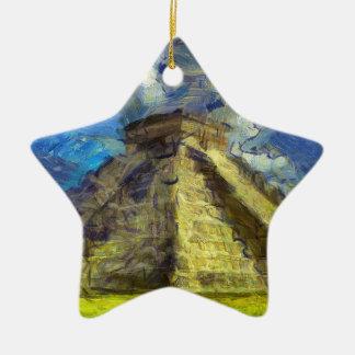 Ornamento De Cerâmica Van Gogh México