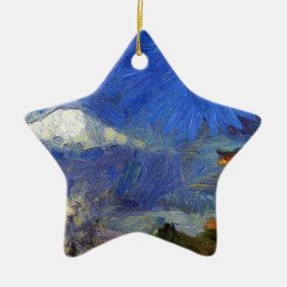 Ornamento De Cerâmica Van Gogh Mt-Fuji-Japão