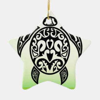 Ornamento De Cerâmica VectorPortal-Turtle-Tattoo-Vector.ai