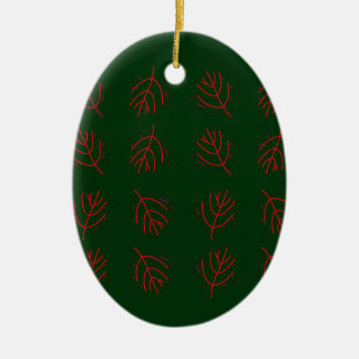 Ornamento De Cerâmica Verde das algas