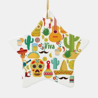 Ornamento De Cerâmica viva México