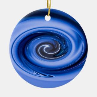 Ornamento De Cerâmica Vortex por Shirley Taylor