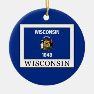 Ornamento De Cerâmica Wisconsin