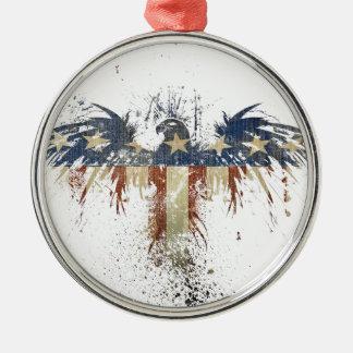 Ornamento De Metal Águia patriótica, US/USA, bandeira TRISTE