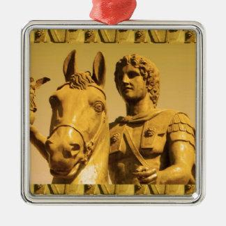 Ornamento De Metal ALEXANDER o excelente:  Vintage Alexanderia