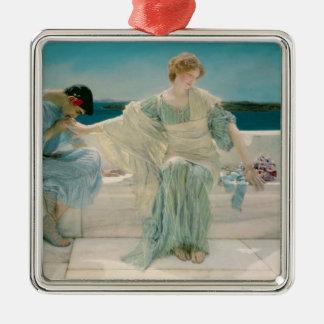 Ornamento De Metal Alma-Tadema | pergunta-me não mais, 1906