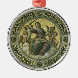 Ornamento De Metal Arte de renascimento do vintage, justiça por