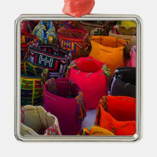 Ornamento De Metal As bolsas dos mochilas de Wayuu para a venda em