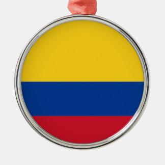 Ornamento De Metal Baixo custo! Bandeira de Colômbia