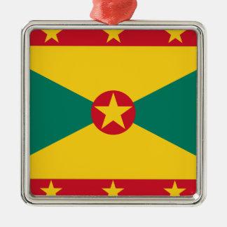 Ornamento De Metal Baixo custo! Bandeira de Grenada